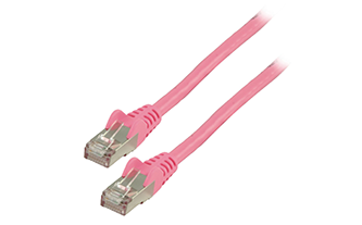 CAT 6 FTP pink