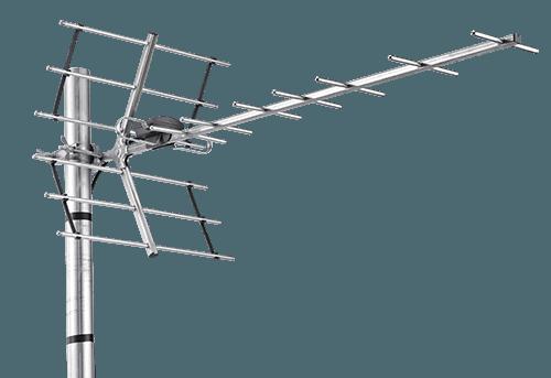 TRIAX DIGI 14 UHF/DVB-T 14 Elementer LTE Beskyttet