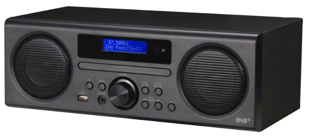 Scansonic DA310 - DAB+/FM radio med CD og Bluetooth - Sort