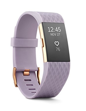 Fitbit Charge 2 Armbånd Lavender/Rose Gold - Small - Special edition