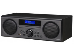 Scansonic DA310 - DAB+/FM radio med CD og Bluetooth - Sort