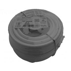 Coaxkabel, hvid, PEG, 300x25, plastspole DG136OHW-R25