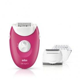 Braun Silk-épil 3 3-410 epilator - raspberry pink