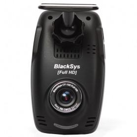 Blacksys CF-100 Dashcam - 1080p - 16GB Micro SD - inkl. 720p bagrude kamera