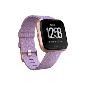 Fitbit Versa Special Edition - SmartWatch - Lavender Woven
