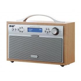Scansonic DA88 FM, AM, DAB og DAB+ radio - Ahorn