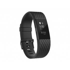 Fitbit Charge 2 Armbånd - Gunmetal - Small - Speciel Edition