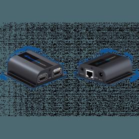HDMI CAT-6 Extender med IR - 60 meter
