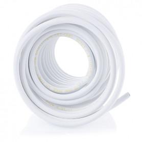 10 Mtr. Coaxkabel oprullet, hvid
