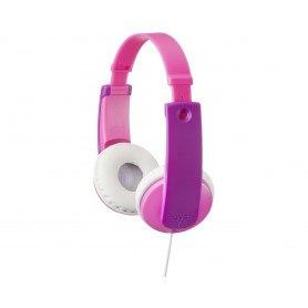 JVC HA-KD7-P Hovedtelefoner til Børn - Pink