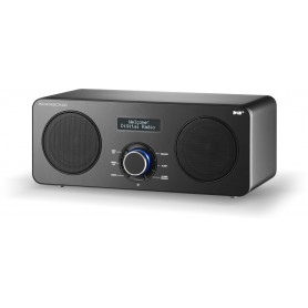 Scansonic DA300 - FM/DAB+ Radio m. Bluetooth - Sort