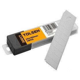 Tolsen Knivblade 25mm til hobbykniv - 10Stk - SK5