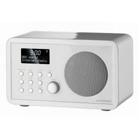Scansonic IN210 - FM/ Internet Radio - Hvid