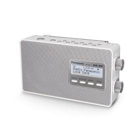 Panasonic RF-D10EG - FM/DAB+ Radio - Hvid