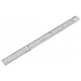 Tolsen Lineal - Rustfri stål - 300 mm