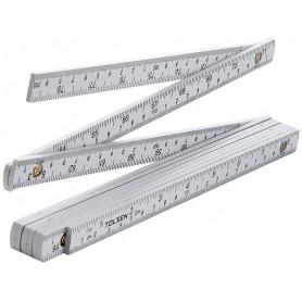 Tolsen Tommestok / Meterstok - 2m