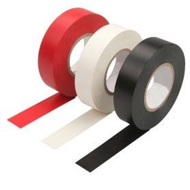 Tolsen PVC Isoleringstape - Hvid - 9.15m - CE godkendt