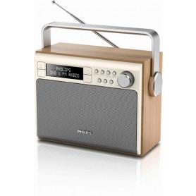 Philips AE5020 Transportabel DAB+ Radio - Ahorn