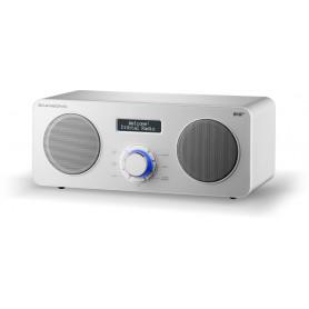 Scansonic DA300 - FM/DAB+ Radio m. Bluetooth - Hvid