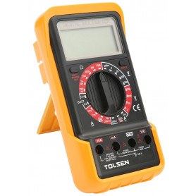 Tolsen Digital Multimeter - IEC-61010 CAT II - CE godkendt - Industriel
