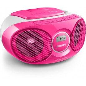 Philips AZ215C Ghettoblaster - Pink