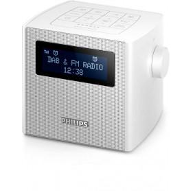 Philips AJB4300W/12 - clock-radio - DAB+