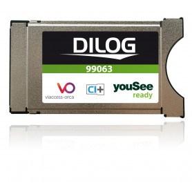 Dilog YouSee godkendt CI+ CAM modul til DVB-C kabel TV
