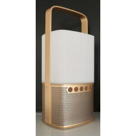 Scansonic Lighthouse - m. Bluetooth - Guld