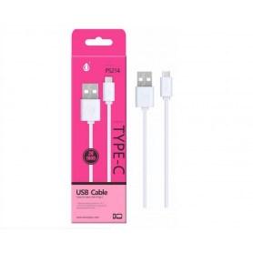 OnePlus P5214 USB-C kabel 1 meter - Hvid