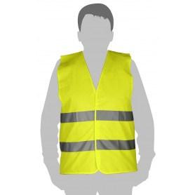 Tolsen Sikkerhedsvest - CE godkendt EN471 - Str XL