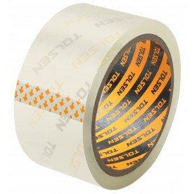 Tolsen Pakketape - Transparent - 50m