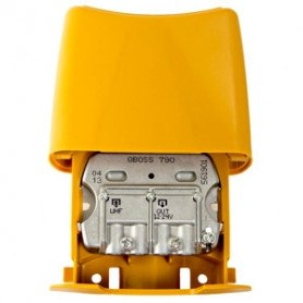 Televes QBoss 15 dB AGC Mastforstærker med LTE filter K21-60 - 561901