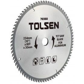 """Tolsen TCT savklingen til aluminum - 254mm (10"""") - 100 tænder"""