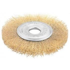 Tolsen Ståltallerken børste til vinkelsliber - rustfjerner - diameter 0.03x22.2x125mm - Indistriel