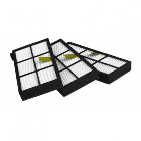 3stk HEPA filtre kompatibel med Irobot Roomba 800- og 900-serien