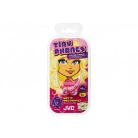 JVC HA-KD1-P høretelefoner til børn - Pink
