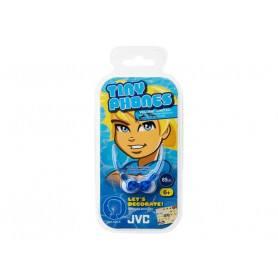 JVC HA-KD1-P høretelefoner til børn - Blå