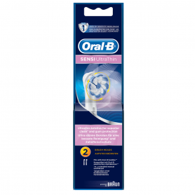 Braun Oral-B EB60 Sensi UltraThin Sensitive Tandbørstehoveder - 2 pack