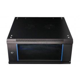 """EXTRALINK 4U 19"""" Rack skab med glasdør - 600X600"""