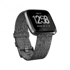 Fitbit Versa Special Edition - SmartWatch - Charcoal Woven