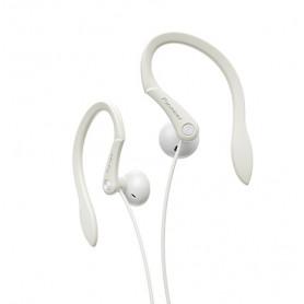 Pioneer SE-E511-W - In-Ear Hovedtelefon m. ørebøjle - Hvid