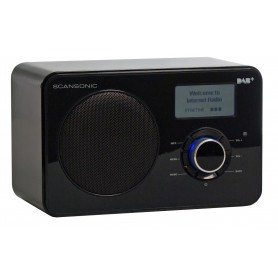 Scansonic IN220BT - FM/DAB+/Bluetooth Internet Radio - Sort