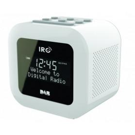 IRC Clock-radio SANDMAN - DAB+/FM - Mono - Hvid