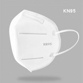 KN95 Ansigtsmaske med elastik - FFP2