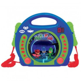 Lexibook- CD-Afspiller Med Mikrofoner - PJ Masks