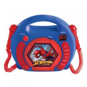 Lexibook- CD-Afspiller Med Mikrofoner - Spider-Man
