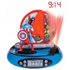 Lexibook Clockradio - Vækkeur Med Lys - Avengers