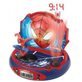 Lexibook Clockradio - Vækkeur Med Lys - Spider-Man
