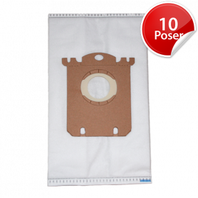 10stk Electrolux UltraSilencer ZUSORIGINR Støvsugerposer