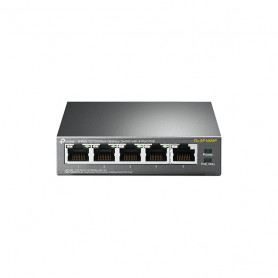 TP-Link Switch 5port - TL-SF1005P - 4x PoE - 10/100